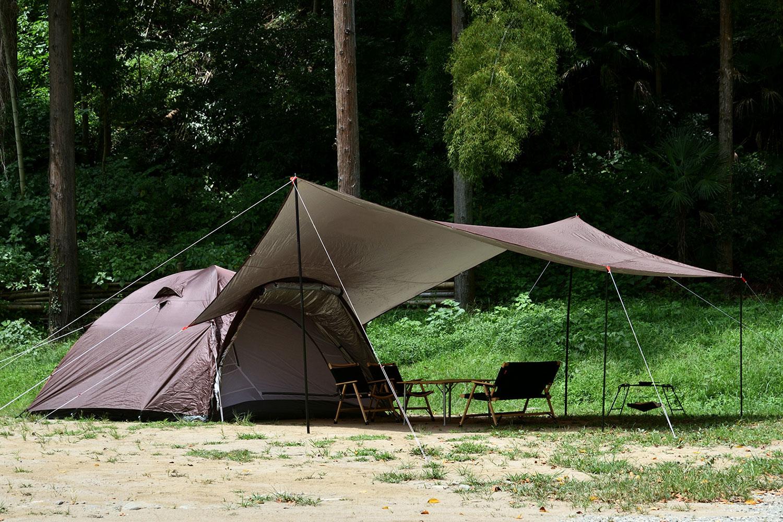 フィールドア フィールドキャンプドーム300+ヘキサタープ(L)セット