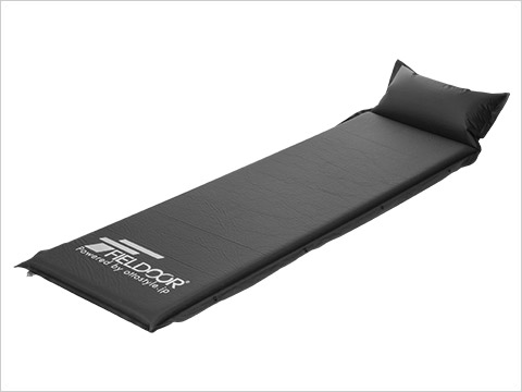 INFLATABLE MAT WITH PILLOW 枕付き車中泊マット