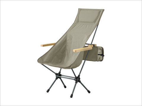 PORTABLE CHAIR HIGH T/C BACK ポータブルチェア ハイバック T/C